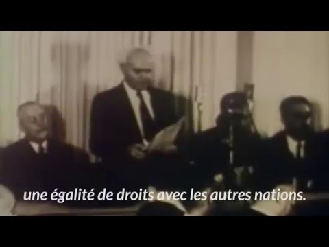Il y a 72 ans, déclaration de l'état d'Israël par David BEN GOURION