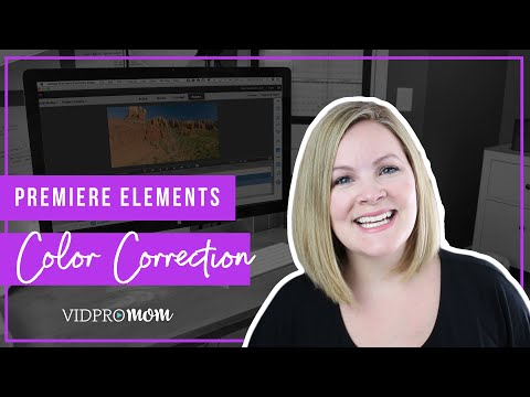 Color Correction in Adobe Premiere Elements 2018