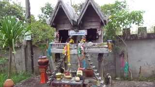 Khong Chiam Thailand  city photo : Ghost House at Wat Tham Khuha Sawan, Khong Chiam, Thailand