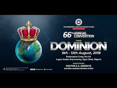 PASTOR E A ADEBOYE SERMON AT DAY 2 RCCG HOLY GHOST CONVENTION 2018  WELCOME SERVICE || DOMINION