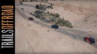 Hells Revenge 4x4 Trail near Moab, Utah