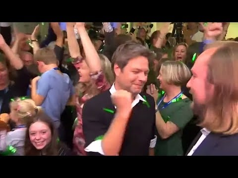 Grüne: Der Union hart auf den Fersen - nur noch hauch ...