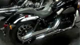 9. 2011 Honda Shadow Phantom VT750C2B with Cobra Exhaust Walk Around Video at Honda of Chattanooga