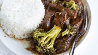 Slow-Cooker Beef and Broccoli by Tasty