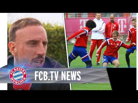 Training, Ribéry, Länderspiele