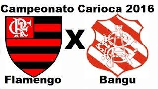 FICHA TÉCNICA FLAMENGO 3 X 1 BANGU Local: Estádio Raulino de Oliveira, em Volta Redonda (RJ) Data: 5 de março de...