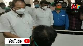 BJP Kanna Lakshminarayana Visit Visakha Gas Leak Victims