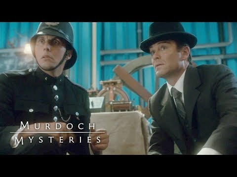 "Murdoch Episode 13, ""murdoch And The Undetectable Man"", Preview 