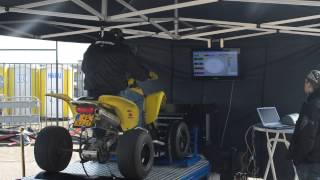 3. Top Speed Run Suzuki Z400 Testbank Open Dag DCA Motorcycles