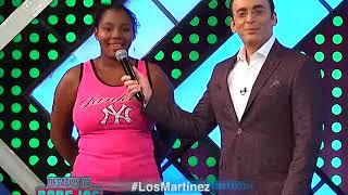 Lo subió en un mueble para que le diera el primer besito #LosMartinez