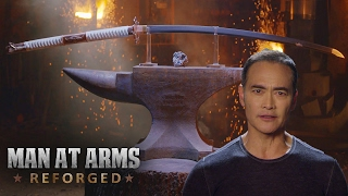 Видео к игре For Honor из публикации: Самурайский меч из For Honor от кузнецов Man At Arms