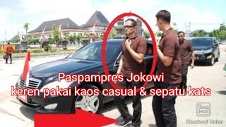 Video paspampres jokowi JAMAN NOW keren dengan gaya casual dan Sepatu Kets MP3, 3GP, MP4, WEBM, AVI, FLV November 2017