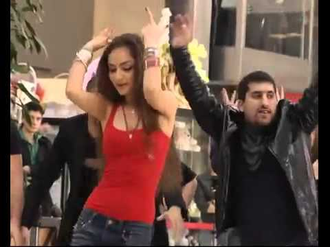 flashmob in Moscow, Russia, Bollywood songs