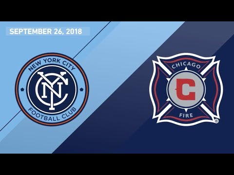 Video: HIGHLIGHTS: Chicago Fire at New York City FC | Sept. 26, 2018