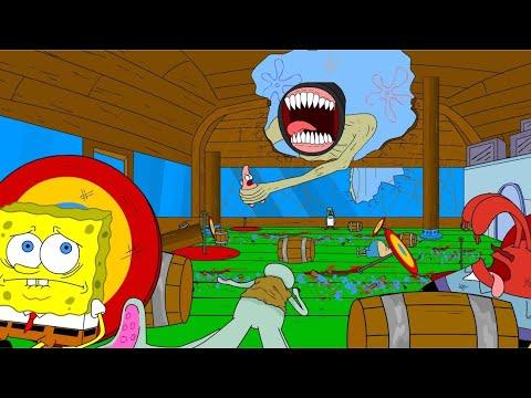 Spongebob Siren Head Attack On BikiniBottom