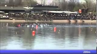 2015 Belgrade k-4 1000m M National trials  of European Championships