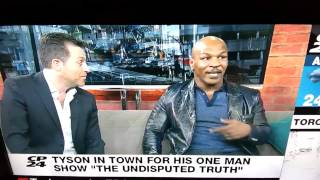 Mike Tyson SNAPS  in Interview FUNNY AS HELL