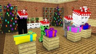 Monster School: Christmas Presents -- Cubic Minecraft Animation
