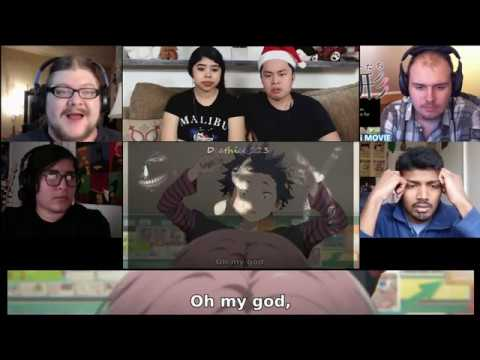 A Silent Voice (Koe no Katachi) Movie Reaction Mashup