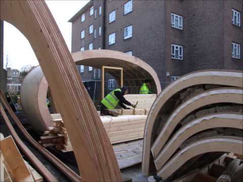 Green Unit first prototype – BOST Eco House construction
