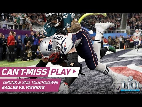 Video: Brady Finds Gronk on 2nd TD Connection to Take the Lead! | Eagles vs. Patriots | Super Bowl LII