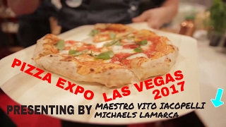"Questo e' come mettono insieme il piu' grande spettacolo di pizze al mondo, PIZZA EXPO 2017 IN LAS VEGAS special thank you to my sponsors : Di Stefano cheese:http: //www.distefanocheese.com/Marra Forni: http: //marraforni.com/Mulino piantoni: http: //www.molinopiantoni.it/index.php?lang=enGi-Metal: http: //www.gimetalusa.com/Rosito Bisani: http://rositobisani.com/Ingardia bros inc: https://www.ingardiabros.com/online/Fiber Pasta: http://www.fiberpasta.it/Di Napoli tomato: http://www.dinapoli.biz/GRAZIE SO MUCH please share in social media form Maestro vito iacopelli ci vediamo l'anno prossimo and please SHARE AND SUBSCRIBE here links of my social media:INSTAGRAM: https://www.instagram.com/vitoiacopelli/FACEBOOK: https://www.facebook.com/maestrovitoiacopell/?Ref=bookmarks"" MY pizzeria WWW.PROVAPIZZA.COM please comment below if you have any questions-~-~~-~~~-~~-~-Please watch: ""BEST PIZZA CHANNEL ON YOUTUBE (how to, recipes, funny, instructional & more)"" https://www.youtube.com/watch?v=q5Cnw0O7xQo-~-~~-~~~-~~-~-"