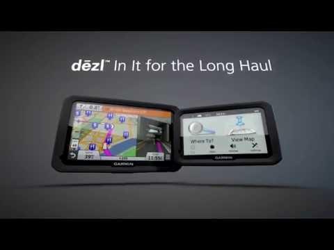 Garmin® dezl™ GPS Truck Navigators - 770 & 570 Series
