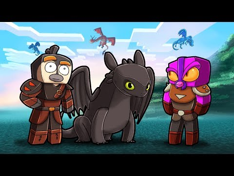 Minecraft Dragons - HOW TO TRAIN YOUR DRAGON!