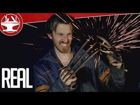 男子在看完羅根之後有感而發製造出真實版的鋼爪,看完效果之後不小心閃了兩滴出來…