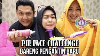 Video PIE FACE CHALLENGE with PENGANTIN BARU (jomblo jangan nonton deh) MP3, 3GP, MP4, WEBM, AVI, FLV November 2018