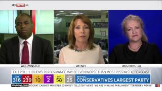Burley United Kingdom  City pictures : Sky News - Kay Burley Blooper | 2015 UK Election Day