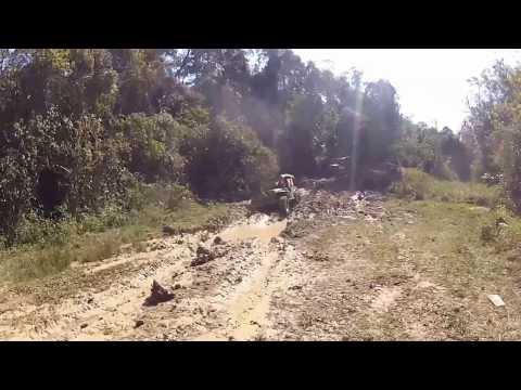 Jeep Clube Camboriú na Trilha da Putinga em Rio dos Cedros SC vídeo II