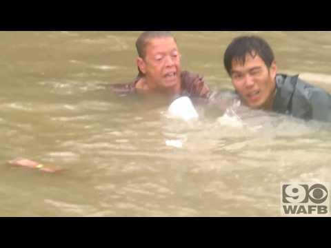Louisiana Flooding Rescue In Baton Rouge