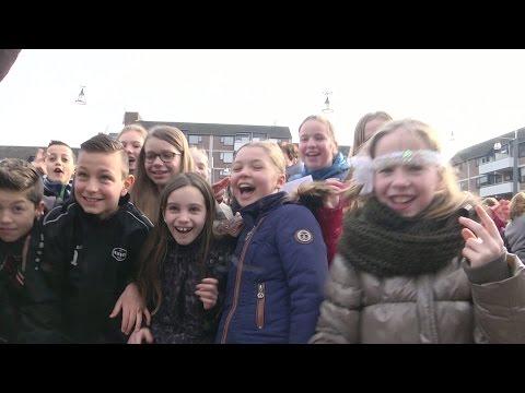2500 Veldhovense leerlingen doen recordpoging