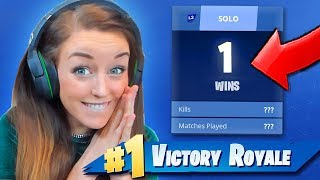 GIRLFRIEND 1st SOLO Victory Royale! by Ali-A