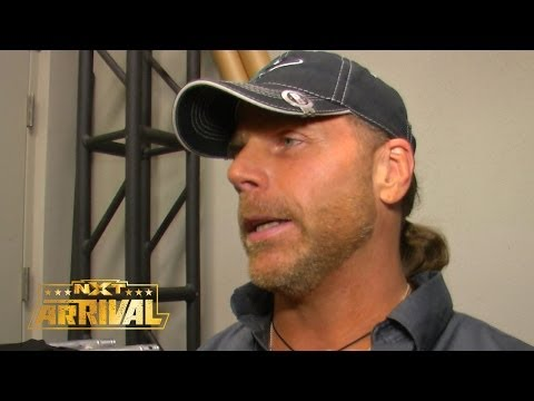 Shawn Michaels talks about the NXT Championship Ladder Match