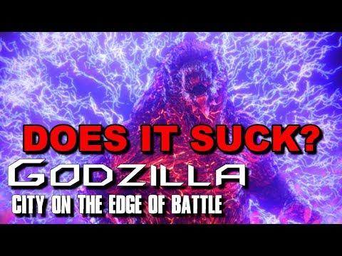 GODZILLA: City On The Edge Of Battle Review (NO SPOILERS) (видео)