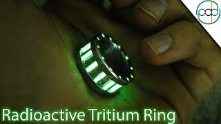 Video Making a Tritium and Damascus Steel Glow Ring MP3, 3GP, MP4, WEBM, AVI, FLV Agustus 2019