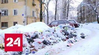 Мусорный коллапс в Кирове: целые улицы превратились в свалки