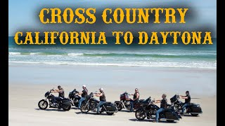 Video Motorcycle Trip - California to Daytona Beach Bike Week MP3, 3GP, MP4, WEBM, AVI, FLV April 2019