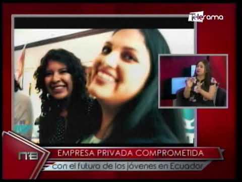 Empresa privada comprometida con el futuro de los jóvenes en Ecuador