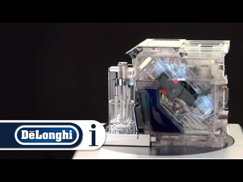 How a De'Longhi Bean-to-cup Coffee Machine Works
