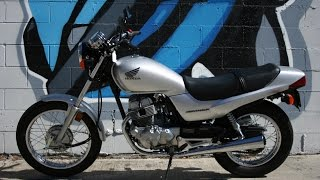 9. 2006 Honda CB250 Nitehawk Motorcycle For Sale