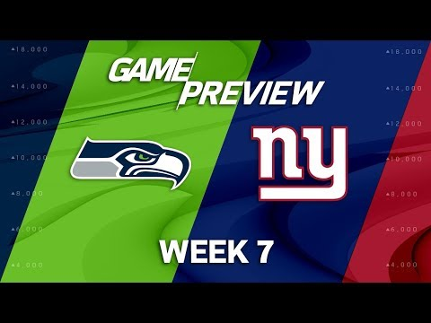 Video: Seattle Seahawks vs. New York Giants | Week 7 Game Preview | NFL