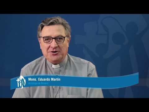 Mons Eduardo Eliseo Martín anima a participar del II Encuentro Nacional de Juventud