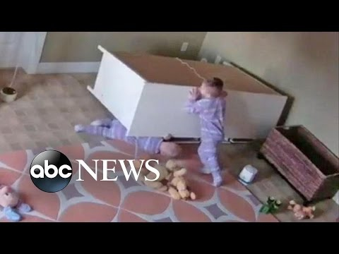 Video Boy Rescues Twin Brother From Fallen Dresser download in MP3, 3GP, MP4, WEBM, AVI, FLV January 2017