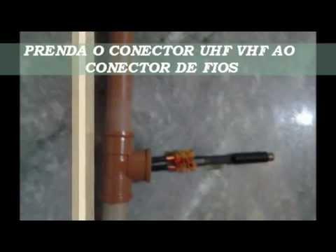 ANTENA DE PVC