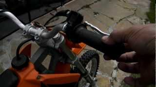 10. 2003 KTM 50 Clutch Mod and Silencer Repack