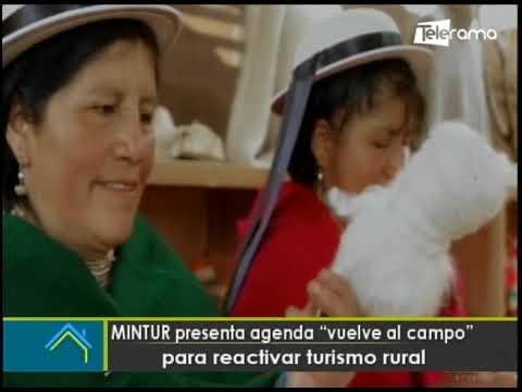 MINTUR presenta agenda Vuelve al campo para reactivar turismo local