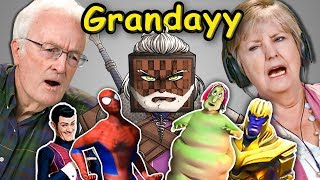 Video Elders React To Grandayy Memes Compilation (Meme Lord) MP3, 3GP, MP4, WEBM, AVI, FLV Februari 2019